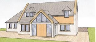 New Builds, Extensions And Renovations. Building Project Management Scottish Borders. Drawing.